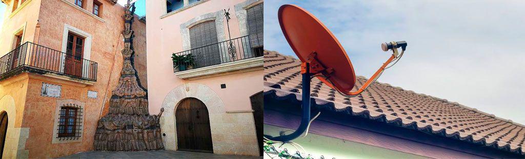 Instalación antena - Antenista Altafulla
